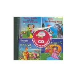 Сборник сказок. Читаем вместе. 3 уровень (красный). CD. (Белоснежка-Золушка)